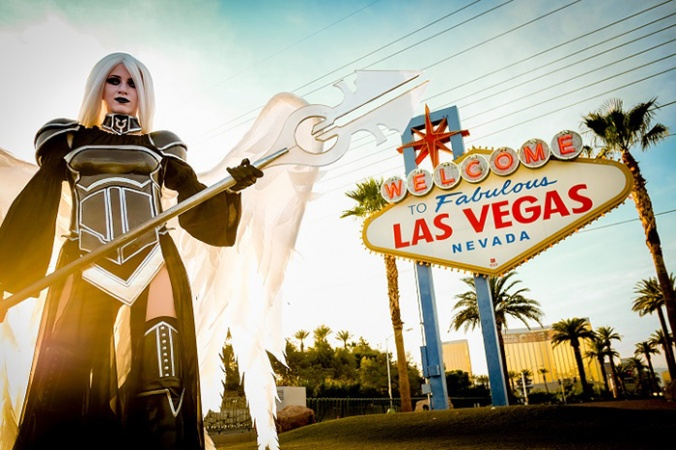 Christine Sprankle Avacyn cosplay - photo by Joey Pasco at GP Vegas 2015