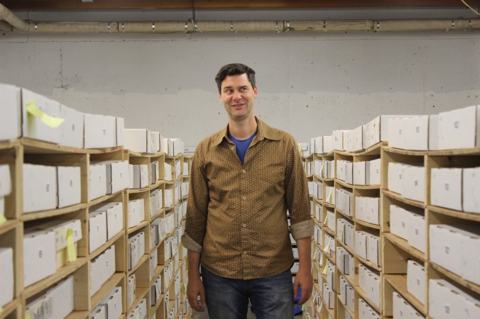 Damon in the card archives.