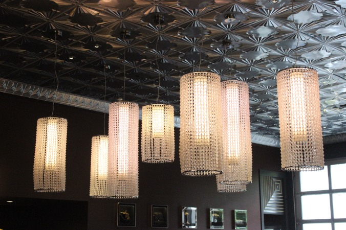 D20 Chandeliers at Mox Boarding House