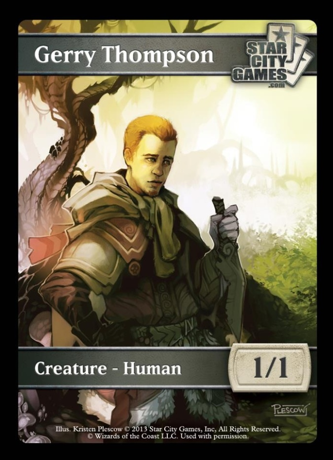 Gerry Thompson Human Token