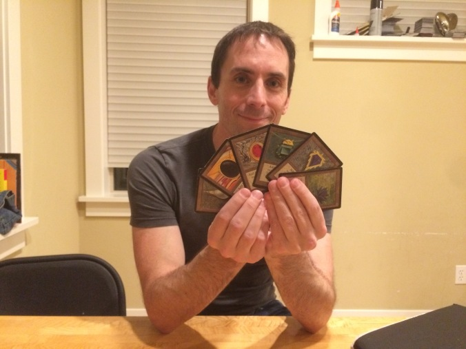 Brian Weissman with a handful of black boarded Mox...and a Black Lotus....