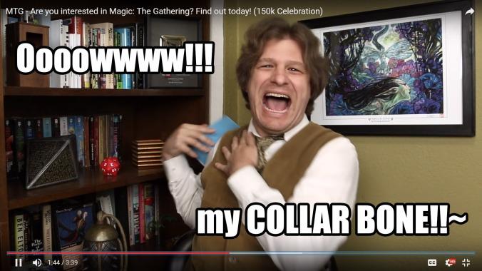 Owww!~ My Collar Bone!