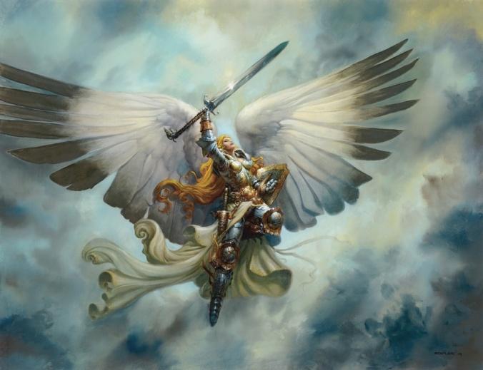 Serra Angel by Greg Staples