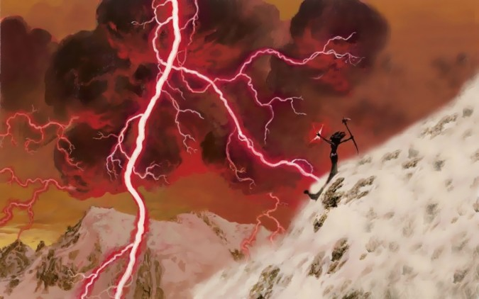 Lightning Bolt by Christopher Moeller